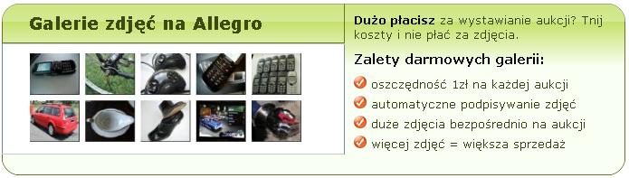 Jak oszczędzać na allegro ? Jak nie płacić za zdjęcia w Allegro ?