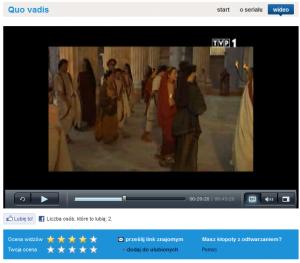 Quo vadis odc  1 Telewizja Polska SA 300x263 Darmowe wideo w internecie VOD. Jak oglądać filmy i seriale legalnie w internecie ?