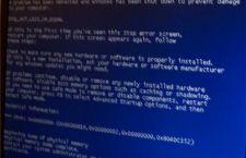 Niebieski ekran i restartowanie komputera. Jak zatrzymać BSOD ?