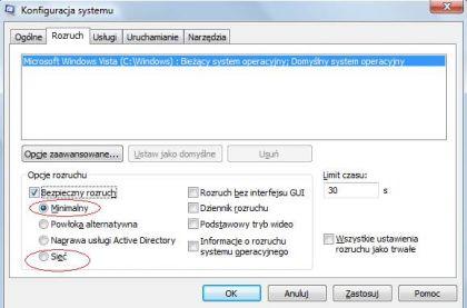 rozruch tryb awaryjny 420x277 Jak uruchomić komputer w trybie awaryjnym. Jak włączyć tryb awaryjny systemu Windows ?