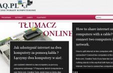 Darmowy tłumacz internetowy – jak przetłumaczyć stronę internetową. Translator tekstu stron internetowych.
