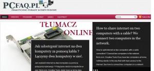 tlumacz 300x139 Darmowy tłumacz internetowy   jak przetłumaczyć stronę internetową. Translator tekstu stron internetowych.