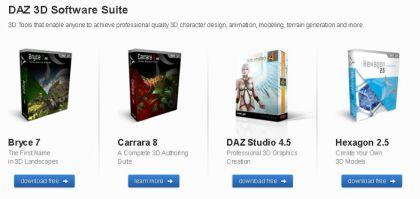 Products 420x199 Darmowe programy do tworzenia animacji 3D. Jak stworzyć animowany film za darmo: povray, blender, daz studio, bryce, hexagon !!