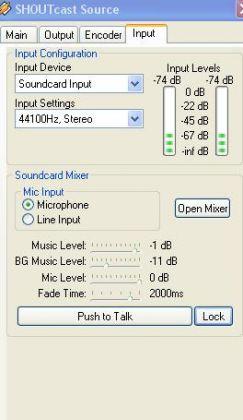 input shoutcast 243x420 Jak założyć darmowe radio internetowe ? Jak stworzyć własne radio online w internecie ?