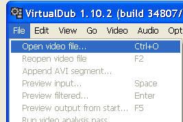 otwor wideo virtual dub Jak podzielić film na kilka części   jak pociąć film ? Jak zmniejszyć wielkość filmu ? Dzielenie filmu na dwie części.
