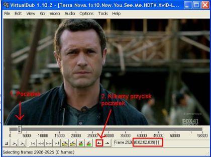 usuniecie fragmentu filmu 420x312 Jak podzielić film na kilka części   jak pociąć film ? Jak zmniejszyć wielkość filmu ? Dzielenie filmu na dwie części.
