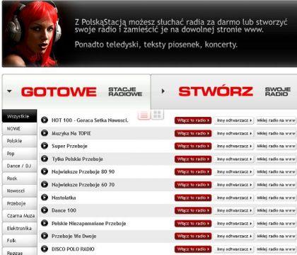 RADIO INTERNETOWE PolskaStacja polskie radio w internecie 420x360 Darmowa i legalna muzyka z internetu. Gdzie pobrać legalne pliki muzyczne mp3 i słuchać muzyki online ?