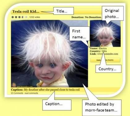 Free upload of your face photo 420x376 Jak przerobić zdjęcie w internecie ? Przerabianie zdjęć online za darmo.