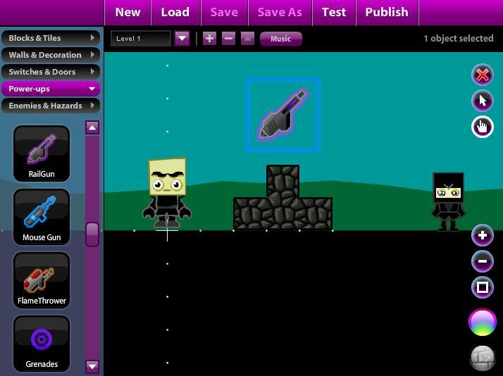 Jak zrobi w asn gr internetow w asna gra flash for Portal flash level 9