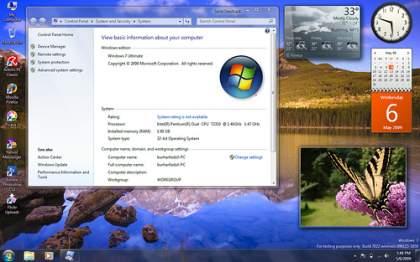windows 7 funkcje