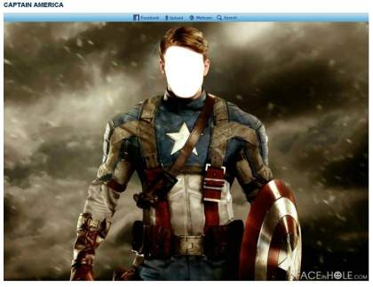 FACEinHOLE_com - CAPTAIN AMERICA