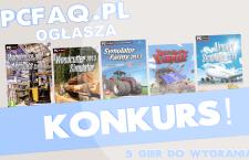 [Zakończony] Konkurs z nagrodami dla czytelników ! Do wygrania 5 gier komputerowych !