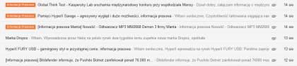 etykiety na gmailu