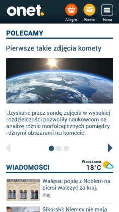 Mój Onet_Strona Główna_Smartfon