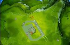 Gra online: symulator wieży lotniczej.