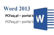 Jak w Wordzie zrobić napis z konturów liter?
