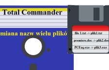 Jak zmienić nazwy dużej ilości plików w Total Commander