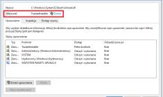 Odblokowanie dostępu do plików systemowych blokowanych przez TrustedInstaller